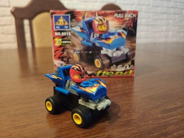 Klocki samochodzik jak Lego