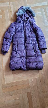 Płaszcz ocieplany coolclub 134 cm