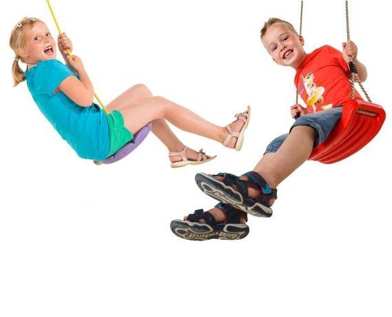 Подвесные качели и тарзанки, для детей и подростков до 70 кг, Бельги