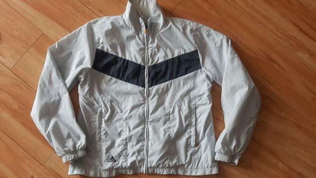Oryginał sportowa kurtka ADIDAS r. 46 błękitna