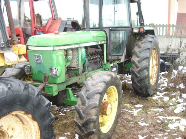 silnik john deere typ 6359 kombajn ciągnik
