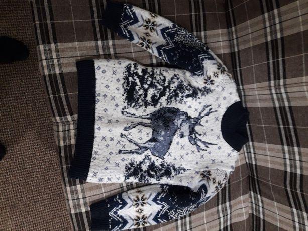 Детский свитер 8-10лет.