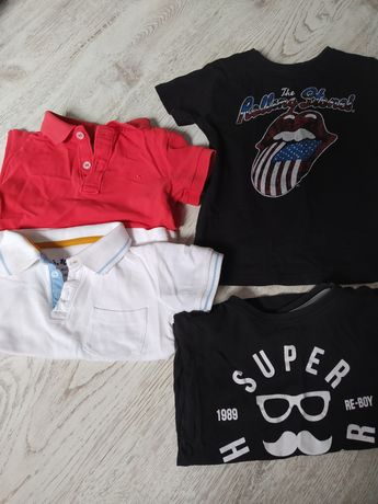 Koszulki polo, t-shirt, 92-98 reserved