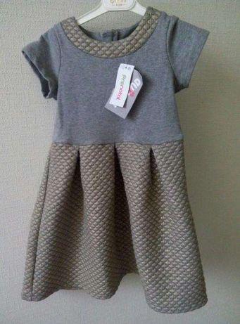новое фирменное платье Prenatal , Италия , на 4-5 лет,440гр