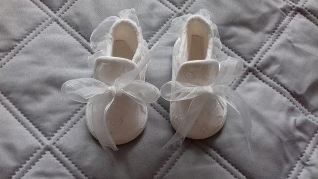 białe buciki rozmiar 10