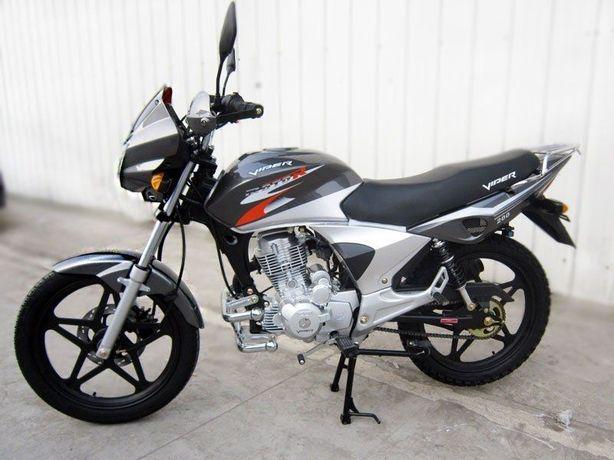 МОПЕД Вайпер Мотоцикл Скутер Viper ZS200/V200A Баланс Чёрный НАЛОЖКА!
