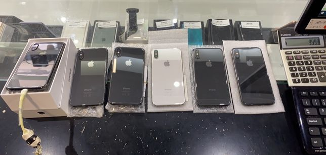 Iphone x 64gb e 256gb