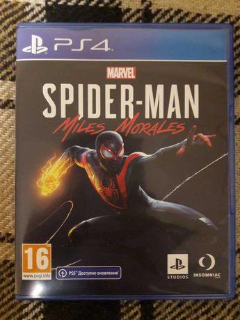 Marvel Spider Man Miles Morales PS4-PS5