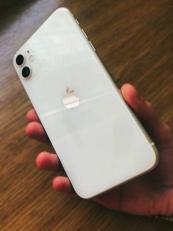 iPhone 11 / Айфон 11 / 64GB / Айфон 11 белый / Телефон / Смартфон