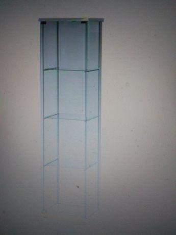 szklana witryna szafka regal Ikea detolf
