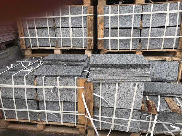 Плитка гранитная Покостовская. 2 см. разные размеры