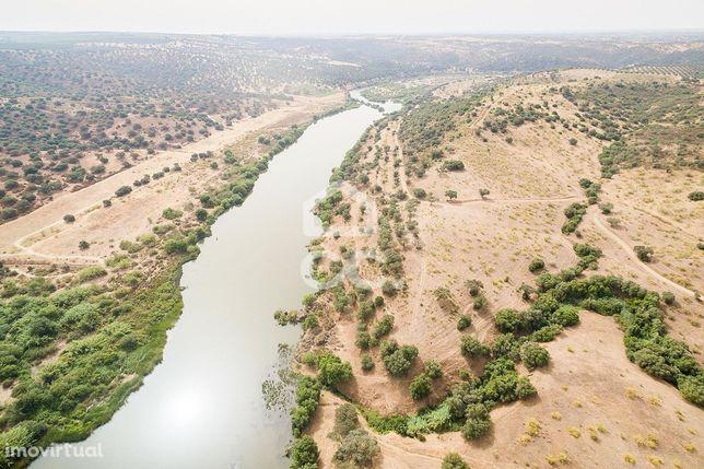 Herdade de 18,7 hectares com monte, junto ao rio Guadiana | Serpa