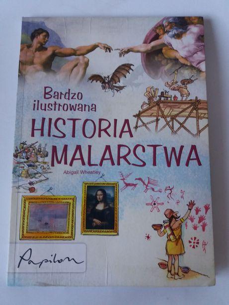 Bardzo ilustrowana historia malarstwa Książka dla dzieci