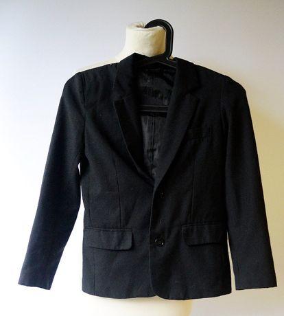 Marynarka Czarna Lindex 140 cm Elegancka Garnitur H&M Zara Reserved