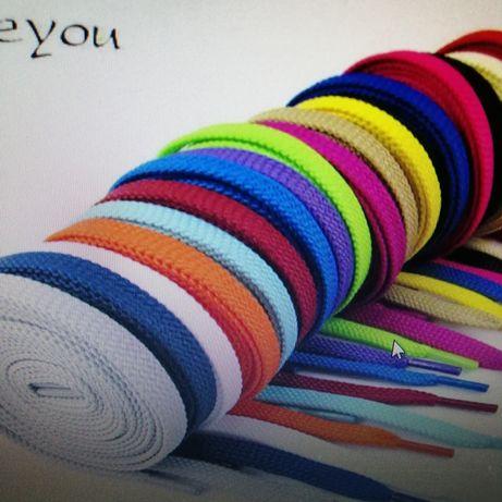 Шнурки цветные (разная длина)