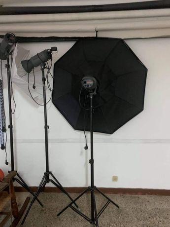 Material de estúdio fotográfico