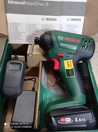 Новый Аккумуляторный Ударный Гайковёрт Bosch AdvancedImpactDrive 18