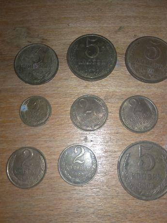 Монеты СССР 90 -91 года