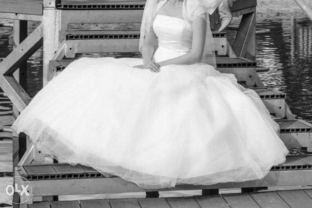 Cudna suknia slubna !!! swarovski