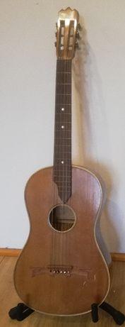 stara gitara parlor WILH KRUSE ok. 1900 rok Niemcy