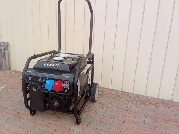 Генератор трифазний HYUNDAI HHY 7050FE-Т 5,5 кВт і на 3 фази і на 1 фа