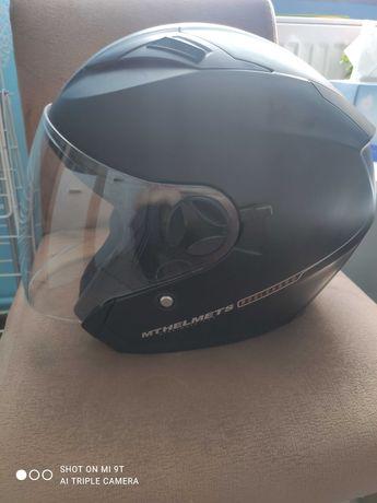 Kask motocyklowy Mthelmets - otwarty