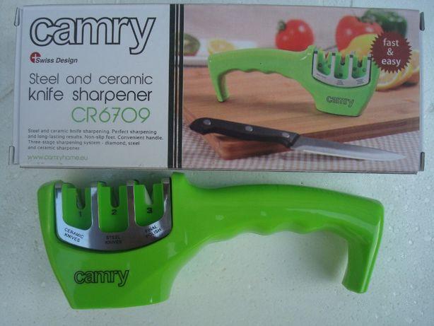 Точилка для ножей металл, керамика Camry Польша