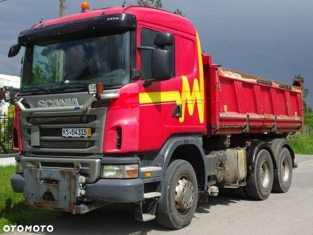 Scania G 420 6x4 wywrotka Meiller kiper hydroburta  sprowadzona z...