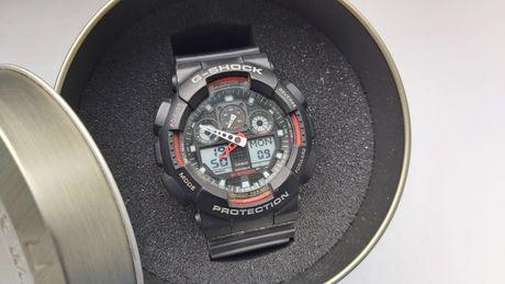 Zegarek męski Casio G-Shock GA-100-1A4ER - stan bdb