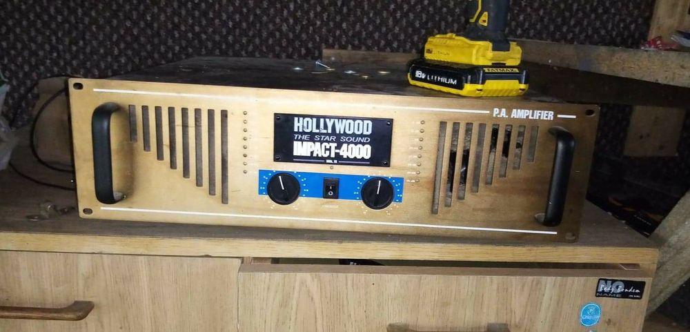 Wzmacniacz Hollywood + kolumny Yamaha Nowy Targ - image 1