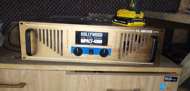 Wzmacniacz Hollywood + kolumny Yamaha