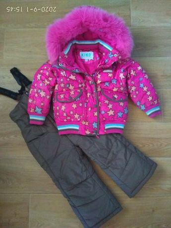 Зимний костюм, комбинезон KIKO на 3-4 года