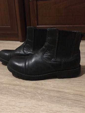 Ботинки кожаные Marks&spencer 31 , осень ,