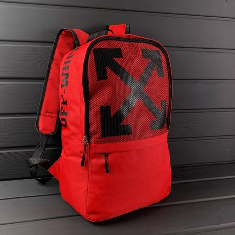 Рюкзак OFF WHITE городской мужской портфель сумка спортивный школьный