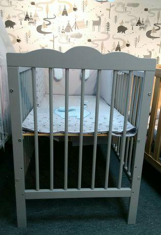 Łóżeczko OLIVER 120/60 Klupś Sklep Dziecięcy BabyBum