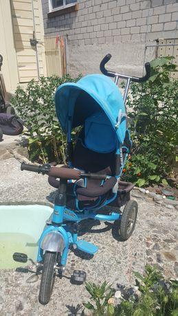Продам детский  велосипед-коляску!