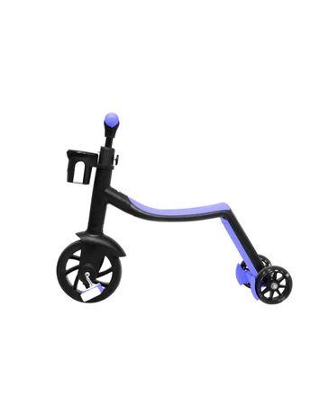 Детский беговел - самокат велосипед трансформер 3в1 (светящиеся колеса