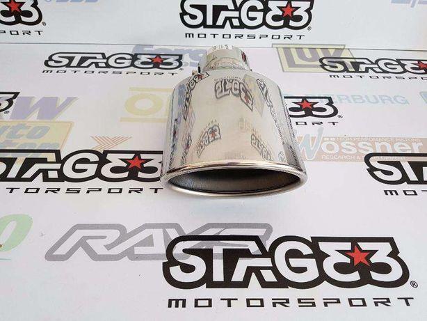 Ponteira de Escape Oval Cupra Ibiza 6k2 k6 6L 1.9TDI 110cv 90cv PD 130