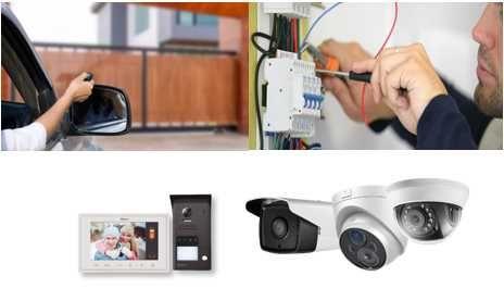 Eletricista/ automatismos/ vídeo porteiros etc