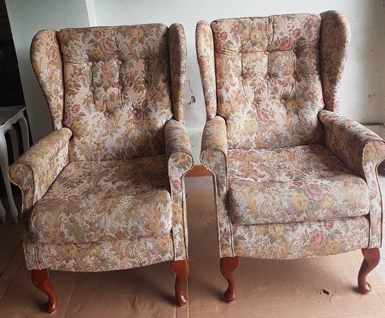 Fotele uszaki angielskie/ oryginalne