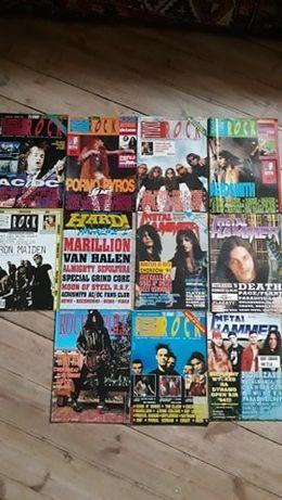 11 gazet myzycznych z lat '90tych