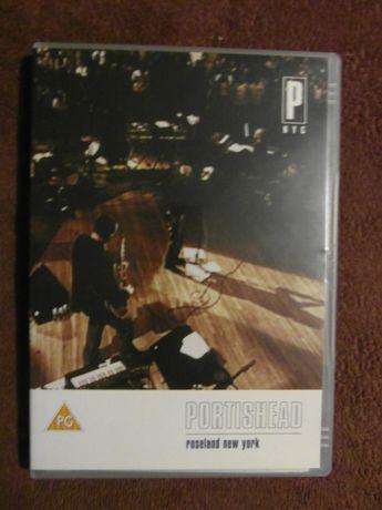 """Płyta DVD z koncertem - PORTISHEAD """"Roseland New York"""""""
