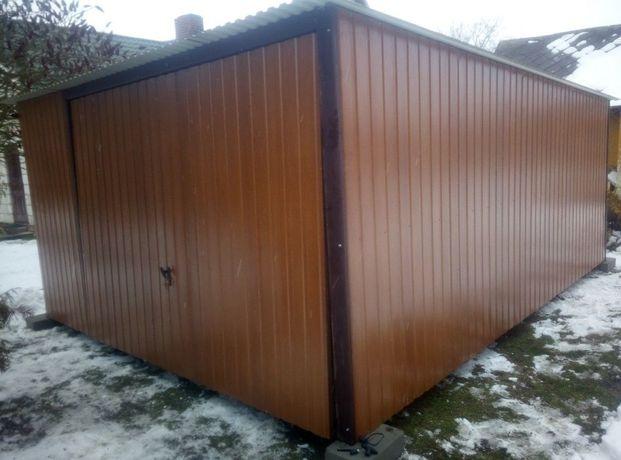 Garaż blaszany blaszaki schowki wiaty garaże blaszane blaszaki domki