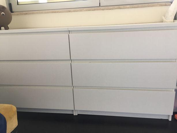Comodas Malm 3 gavetas Ikea