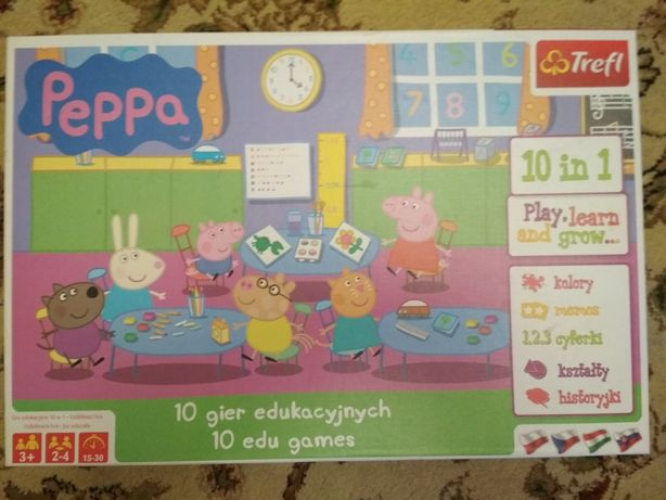 10 gier świnka peppa
