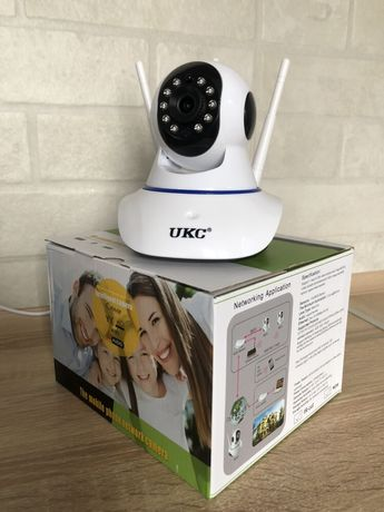 Поворотная Wi-Fi Камера UKC