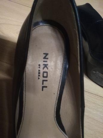 Buty skórzane Nikoll