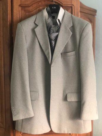 Костюм трійка 52, сорочка і галстук