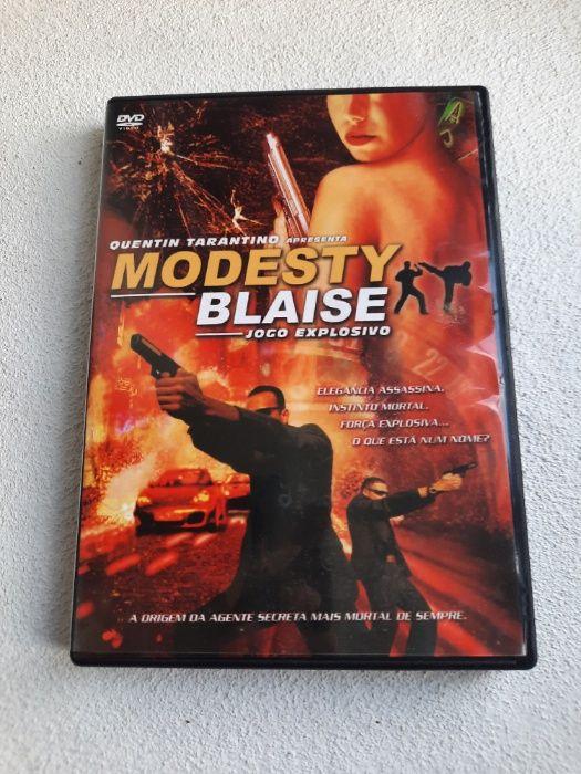 Modesty Blaise (DVD) Odemira - imagem 1