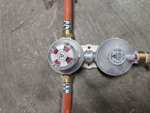 Istalacja gazu- dwu butlowa RECA